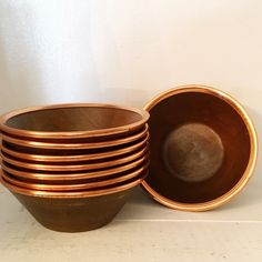 Excited to share this item from my #etsy shop: VINTAGE | faux wood and copper salad bowl serving set with utensils #copper #brown #metal #popcornbowls #copperrimbowl #bowlset #copperdining #coppercraftbowls #servingutensils Serving Utensils, Serving Bowls, Copper Crafts, Kitchen Window Sill, Salad Bowls, Chip And Dip Bowl, Vintage Colors, Lucky Horseshoe, Forks And Spoons