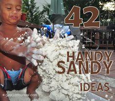 42 Handy Sandy Ideas