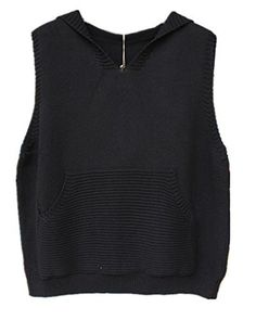 """Product review for Aeneontrue Women's Hooded Sweater Sleeveless V Neck Knitted Solid Sweater Vest with Pocket.  Aeneontrue has registered Trademark """"Aeneotnrue"""". This item is only provided by Aeneontrue, and did not authorize any second stores to sell our items. If other seller follow selling our items, please kindly notice us or report to Amazon directly. Aeneontrue only Guarantee our quality,..."""