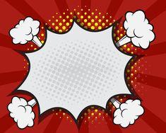 Photo about Comic Book Speech Bubble,Pop art Cartoon Red Background Vector Illustration. Illustration of design, bang, bubble - 59411569 Superhero Cartoon, Superhero Party, Fiesta Pop Art, Pop Art Party, Desenho Pop Art, Pop Art Background, Comic Bubble, Comic Art, Comic Books