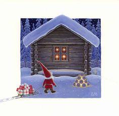 Eva Melhuish Christmas Text, Boxed Christmas Cards, Christmas Makes, Christmas Pictures, Xmas Cards, Winter Christmas, Vintage Christmas, Christmas Gnome, Christmas Clipart