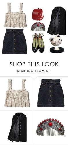 """Untitled #213"" by its-teoz ❤ liked on Polyvore featuring Abercrombie & Fitch, Hope x Nina Persson and French Sole FS/NY"