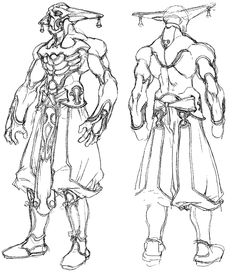 Grahf - Characters & Art - Xenogears