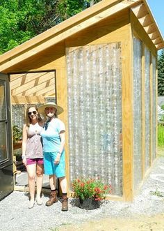 Bethelhem Children's School (BCS) in Slingerlands, New York constructed a greenhouse out of recycled plastic bottles. Read the follow interview here.