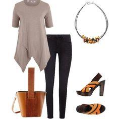Trendy con poco Beige Top, Polyvore, Outfits, Tops, Fashion, Italia, Moda, Suits, Fashion Styles