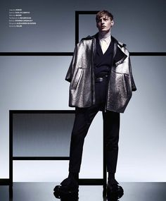 Essential Homme: Roberto Sipos Rocks Modern Proportions