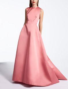 Max Mara ALBINA geranie: Kleid aus Duchesse.