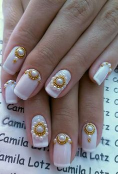 Manicure And Pedicure, Pedicures, Nail Arts, Cute Nails, Beauty, Beautiful, Nail Jewels, Art Nails, Luxury Nails