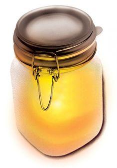 Sunshine in a jar... magical