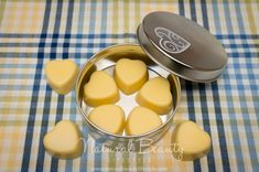 All Natural Lotion Bars DIY Recipe. Heart-shaped and honey cocoa scent.   http://naturalbeautylifestyle.com/diy-recipes/all-natural-lotion-bars/