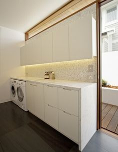 Little Reef House contemporary-laundry-room