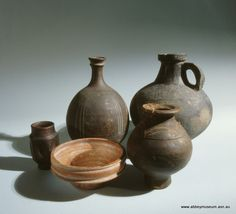 Ancient Roman Cooking Pots The One On The Left Is Still