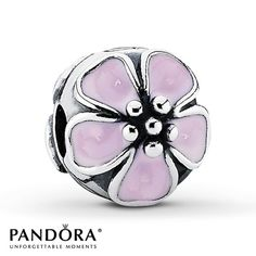 Pandora Clip Cherry Blossom  Sterling Silver - $55