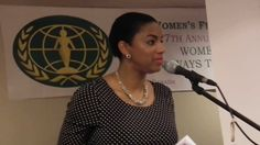 International Women's Day Speech - Standing up against Violence.