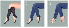 Key Socks: The Knee-High No-Show Sock Solution | 24 Genius Clothing Items Every Girl Needs
