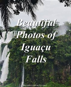Amanda Lundberg travels to Brazil and Argentina to see the magnificent Iguaçu Falls. Brazil Travel, Us Travel, South American Countries, Stunning View, Waterfalls, Travel Photos, Travel Photography, World, Mountains