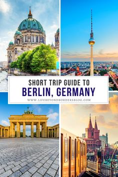 Are you planning to travel to Berlin, Germany? If you only have one day in Berlin then check out this fabulous itinerary for 24 hours in Berlin that includes tips for a short trip to Berlin. I things to do in Berlin I Berlin in 24 hours I Berlin in one day I Germany travel I Berlin travel tips I tips for Berlin I places to go in Berlin I what to do in Germany I #Germany #Berlin Berlin Travel, Paris Travel, Germany Travel, Europe Travel Tips, Travel Deals, Travel Guides, Tourist Info, Tourist Places, Winter Travel