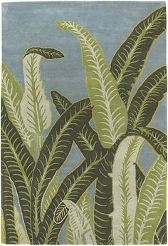 Kronos Hand-Tufted New Zealand Wool Area Rug design by Chandra rugs