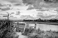 The River Arun (Graham Hodgetts) Tags: england blackandwhite river landscape sussex gate path style fujifilm stile fujinon arundel xt1 britnatpark 1855mmxf ruiverarun