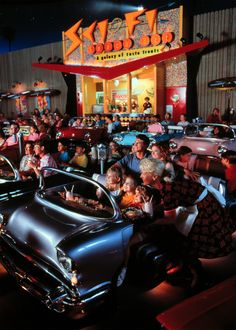 The Sci-Fi Dine-In Theater...has the best ribs!