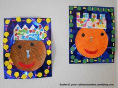 roi galette Plus Petite Section, Sunday School Crafts, Art Lessons Elementary, School Themes, Felt Ornaments, Art Plastique, Art School, Art For Kids, Activities For Kids