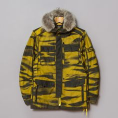 Stone Island Shadow Project / DPM Grid-R Inverse Jacket (Giallo)