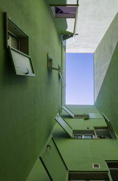 8 casa y 3 patios, Santa Lucía de Tirajana, 2007 - Romera y Ruiz Arquitectos