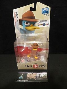 Disney Infinity Crystal Agent P variant Toys R US Exclusive