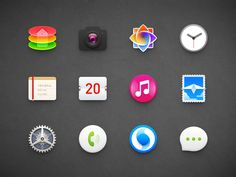 OS Icons designed by Sandor. Connect with them on Dribbble;