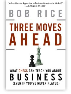 "I just started reading this book by Bob Rice which compares the art and science of chess and the application of its principles and tactics to business.  So far it has been a great read.  I am a chess player and see a lot of cool linkage to business.  I'm 2 chapters deep and will probably finish the book this weekend.  So far, i'd give it a ""Great Read""."