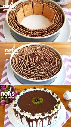 Biscuit Pastry - Superb presentation with guaranteed results in every making - Yummy Recipes- Bisküviden Pasta – Her yapmada garanti sonuç muhteşem sunum – Nefis Yemek Tarifleri Biscuit Pastry – guaranteed results every time you make … - Yummy Recipes, Cake Recipes, Dessert Recipes, Cooking Recipes, Yummy Food, Pastry Recipes, Sweet Desserts, Sweet Recipes, Flaky Pastry