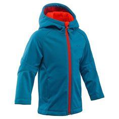 8d52fd90ec7c Hiking Sport di Montagna - Softshell bambino 2-6 anni HIKE 900 azzurro  QUECHUA -