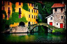Town of Nesso /Lake Como Italy