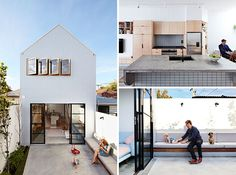 A New House Designed For A Young Family On A Small Property In The City