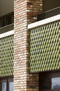 Brick Architecture, Architecture Details, Brick Bonds, Architectural Materials, Presentation Styles, Brick Detail, Brick Facade, Brickwork, Modern Buildings