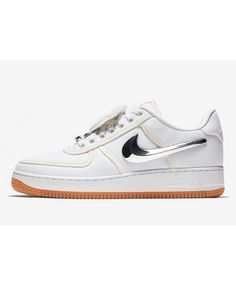 Discount Cheap Nike Air Force 1 Travis Scott x White Silver Air Force 1 Sale, Nike Air Force, Sale Store, Travis Scott, Cheap Nike, Online Sales, Sneakers Nike, Silver, Stuff To Buy