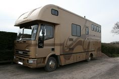 This 1996 #Ford Eurocargo 75E15 #horsebox carries up to three horses | For #sale on #HorseDeals