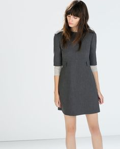 Image 2 of DRESS WITH FLAP POCKETS from Zara