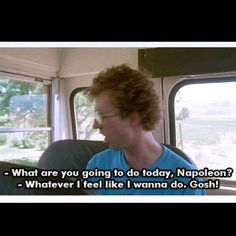 If I can count the # of times my friends and I quoted Napoleon Dynamite when it came out...