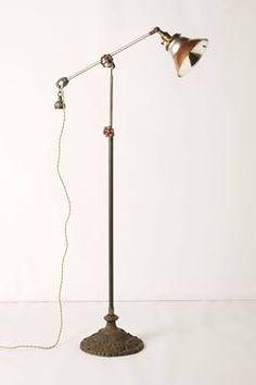 Anthropologie Curtis Shade Lamp