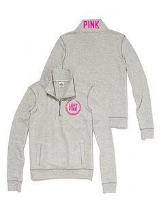 Victoria's Secret PINK Half-Zip Pullover #VictoriasSecret http://www.victoriassecret.com/pink/hoodies-and-pullovers/half-zip-pullover-victorias-secret-pink?ProductID=68712=OLS?cm_mmc=pinterest-_-product-_-x-_-x
