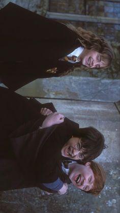 Harry Potter Golden Trio Wallpaper