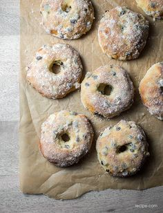 Make-Ahead Baking: Baked Doughnuts