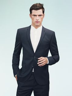 Sean OPry Fronts HUGO By Hugo Boss Spring 2013 Campaign