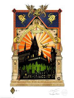 Celebration of Harry Potter limited-edition prints: See all 5 years
