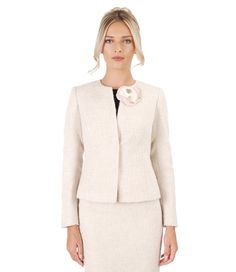 """""""Simplicity is the ultimate form of sophistication. Evening Outfits, Fashion Beauty, Your Style, Blazer, Wool, How To Make, Blazers, Evening Gowns, Night Outfits"""