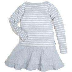 FLOUNCE SKIRT T SHIRT DRESS (6-12 YRS)