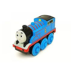 Trenino Thomas & Friends Y4110 - Locomotiva a batterie in legno   lalberoazzurro.net