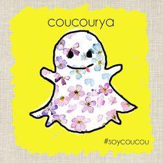 Miramos en Snapchat!  Búscanos como >>coucourya #soycoucou #encoucou