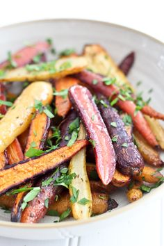 Honey Mustard Rosemary Glazed Carrots